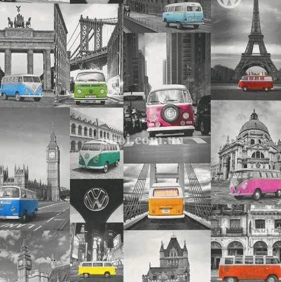 Обои P+S International (Германия) коллекция Collage