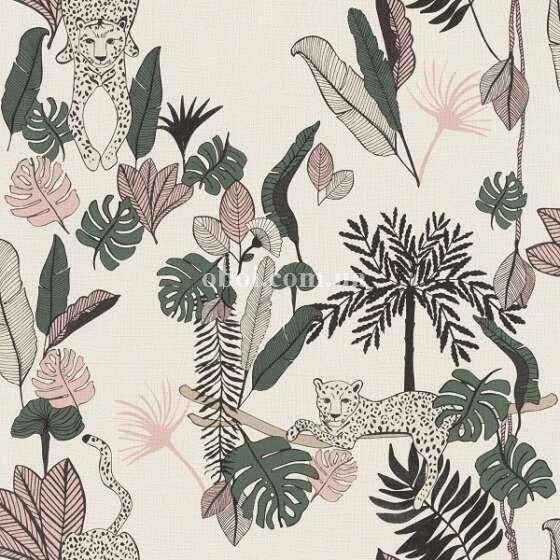Обои Rasch (Германия) коллекция Club Botanique