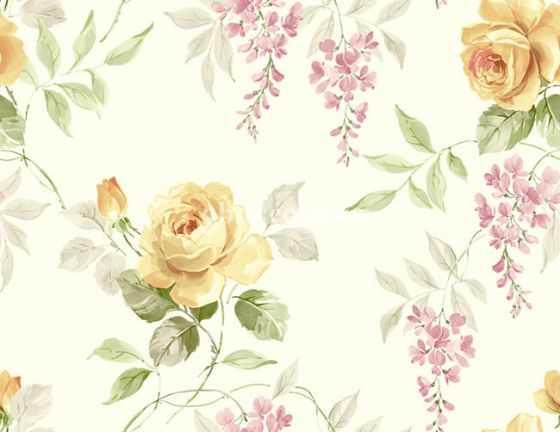 Обои KT Exclusive (США) коллекция English garden
