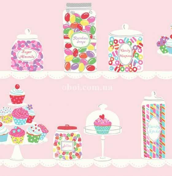 Обои KT Exclusive (США) коллекция Jelly beans